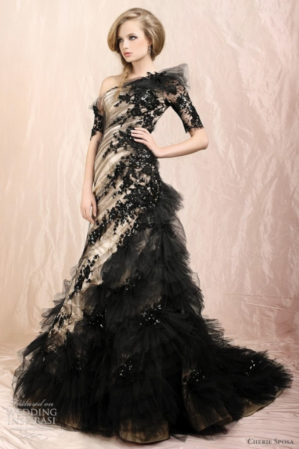 black-wedding-dresses-2012