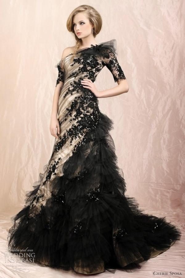 black-wedding-dresses-2012