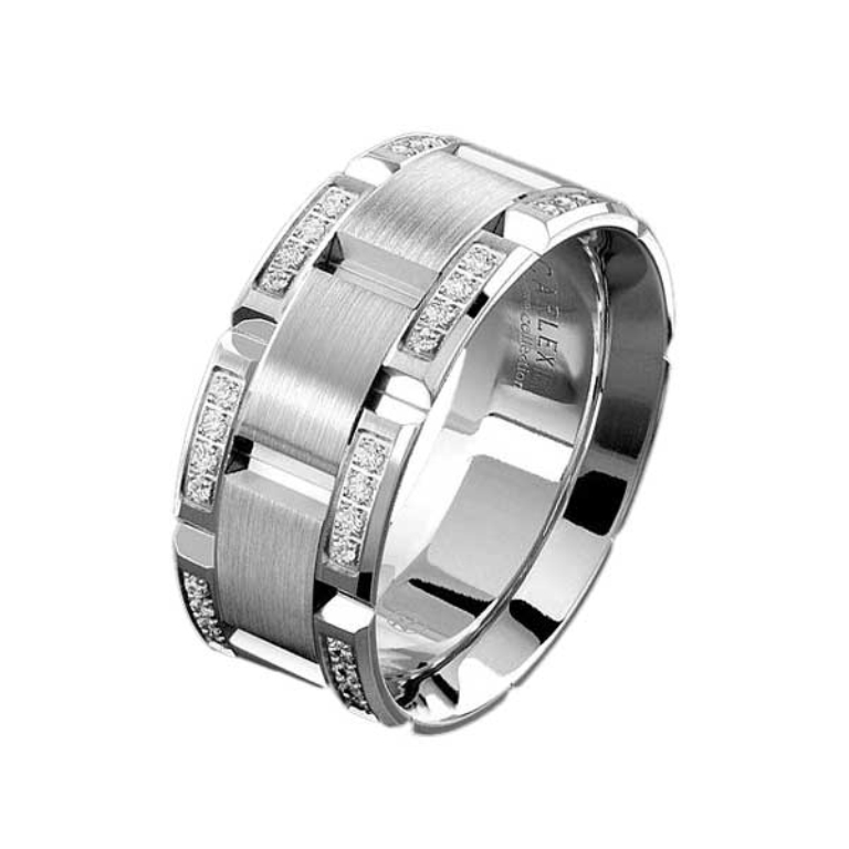 Top 10 Catchy  Expensive Men's Wedding Bands