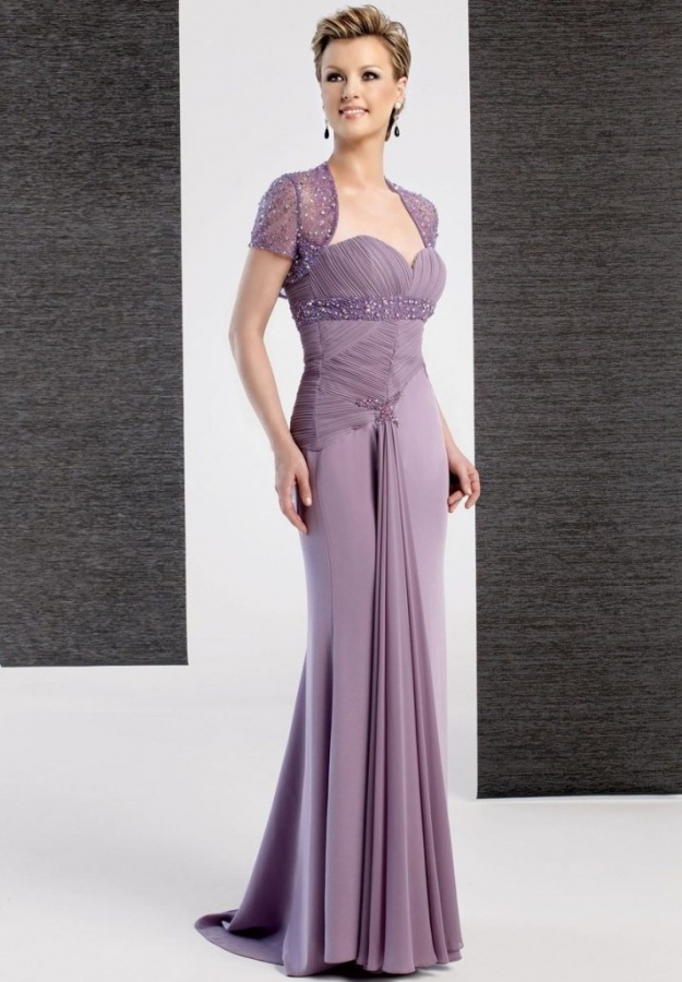 chiffon-strapless-empire-sheath-a-line-long-mother-of-the-bride-dress 2