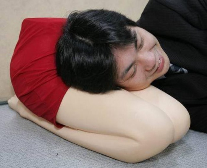 Funny and non-traditional pillow for lonely men who are still single