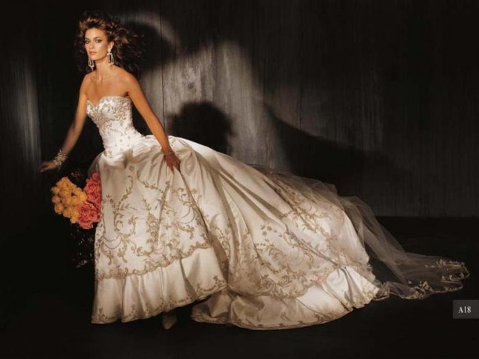 gold-embroidered-wedding-dress