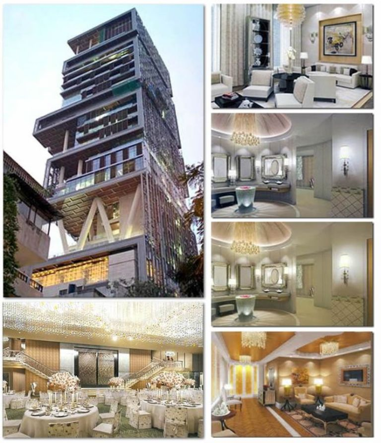 Top 10 World's Most Expensive Houses