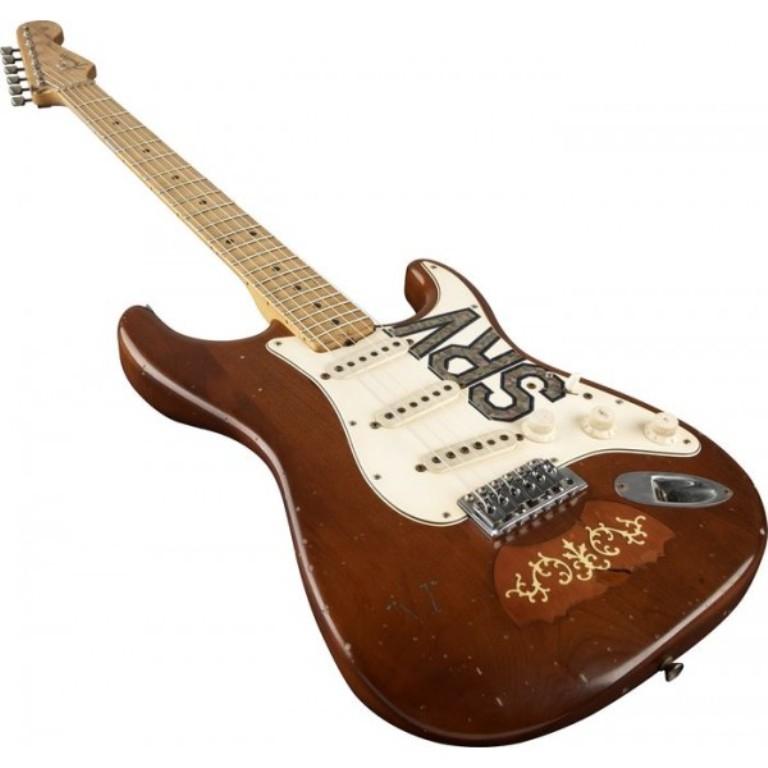 """""""Lenny"""" - Stevie Ray Vaughan's 1965 Fender Composite Stratocaster ."""