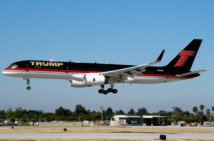 Boeing-757-Owner-Donald-Trump