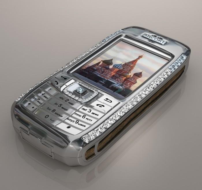 JSC Ancort's Diamond Crypto Smart Phone