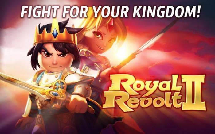 Royal Revolt 2 - screenshot.