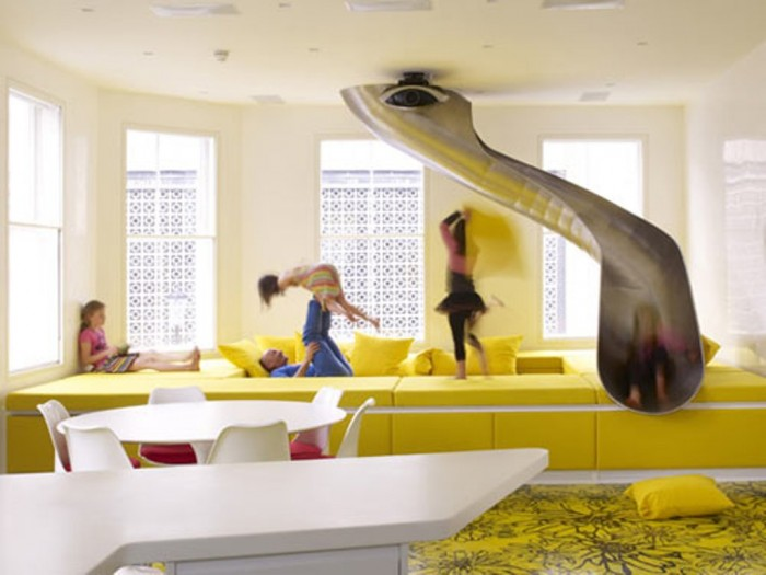 Sensational Slide Design Home to Your House Awesome Slide Design With Colorful Room Ideas