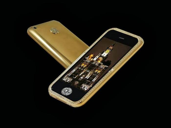 Stuart Hughes' Goldstriker iPhone 3G Supreme