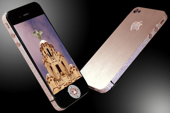 Stuart Hughes' iPhone Diamond Rose Edition