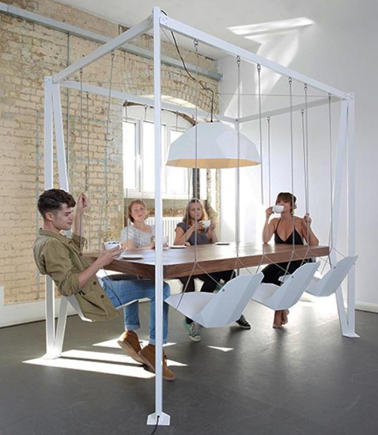 swing set table