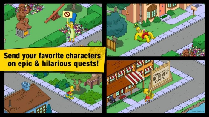 The Simpsons™ Tapped Out - screenshot.
