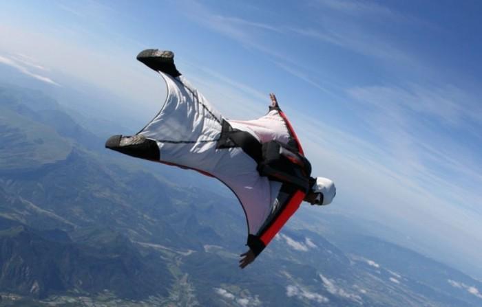 Wingsuiting.
