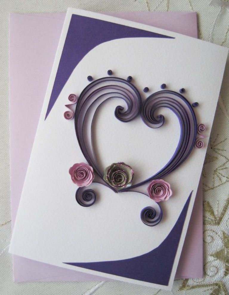 Своими, квиллинг открытки к дню матери