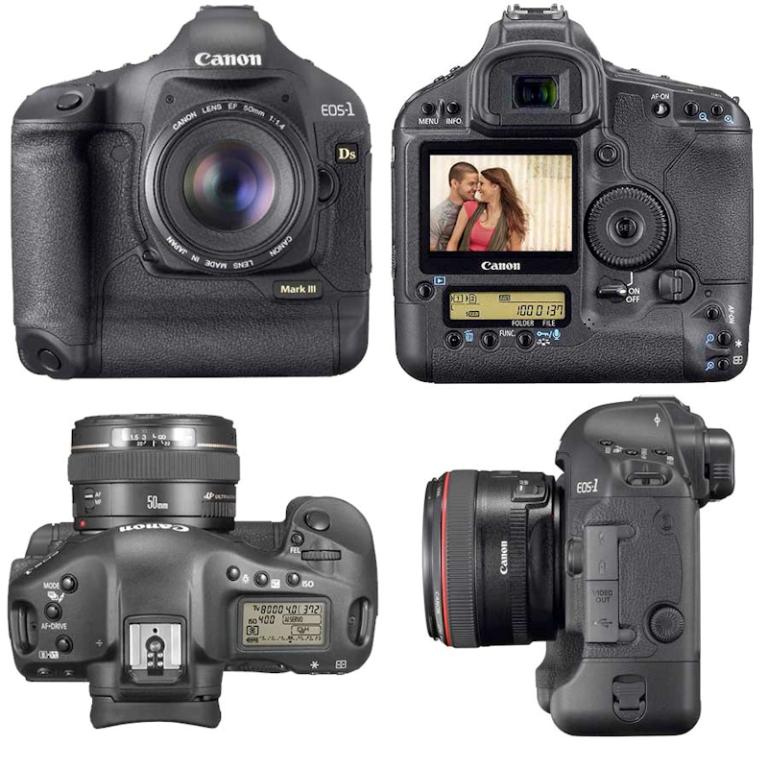 Canon EOS-1Ds Mark III SLR Digital Camera
