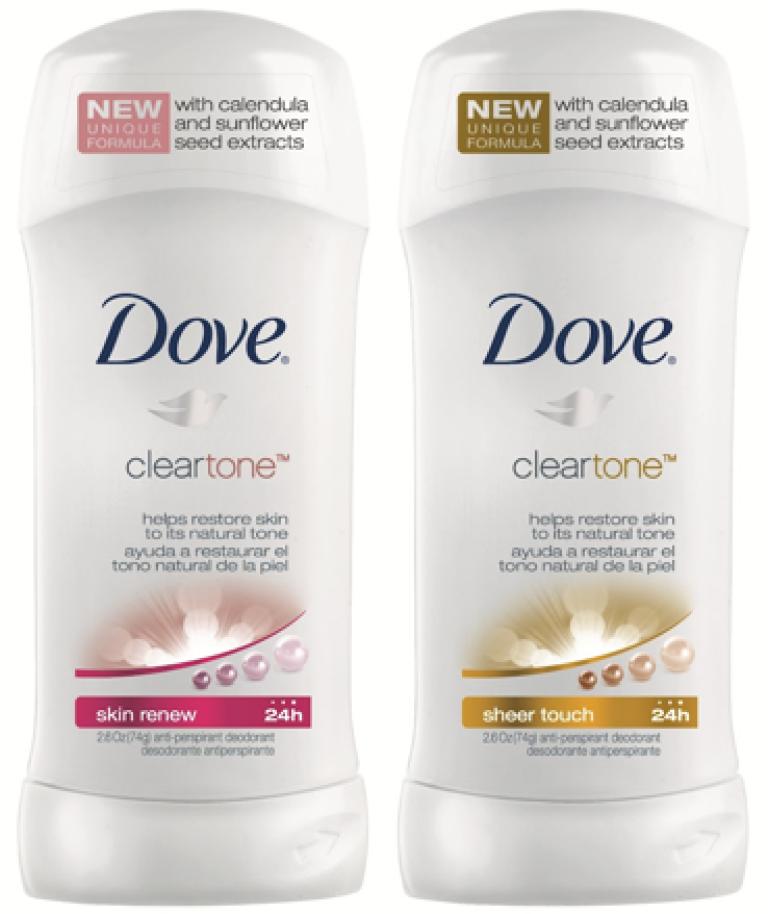 Dove Advanced Beauty Clear Tone Skin Renew Antiperspirant and Deodorant
