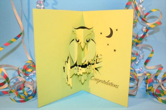 Top 10 handmade pop up greeting cards you do not have to look for expensive materials for making your pop up greeting cards as through using paper and other simple materials at your home m4hsunfo Images