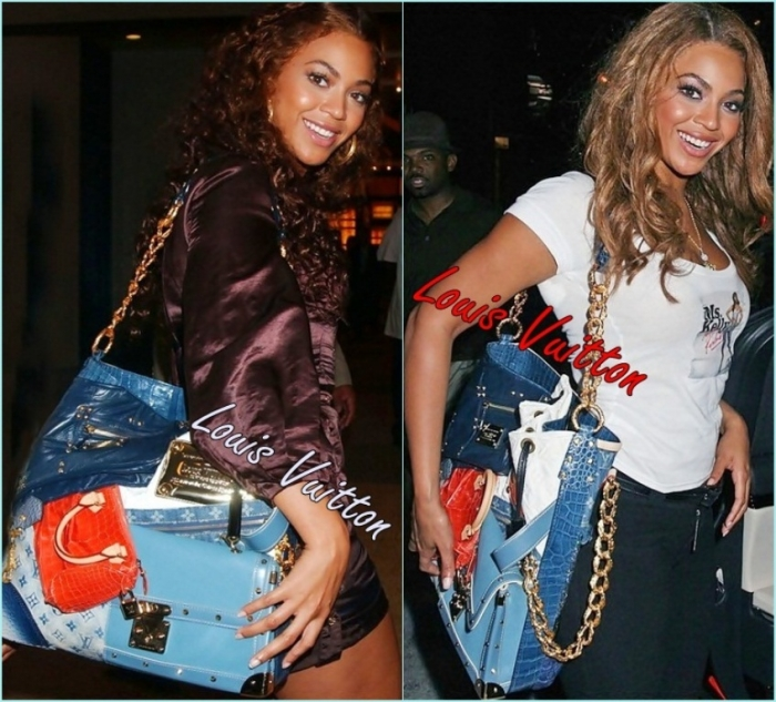 LV Tribute Patchwork Bag