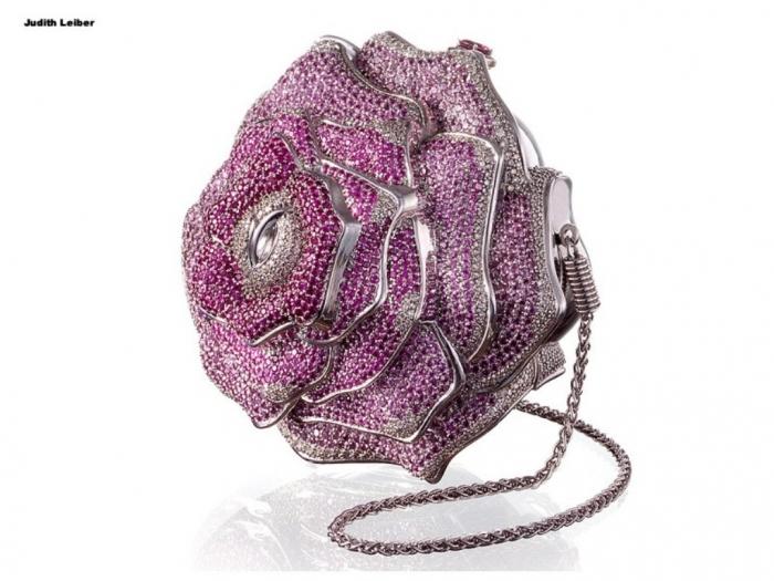 Leiber Precious Rose Bag
