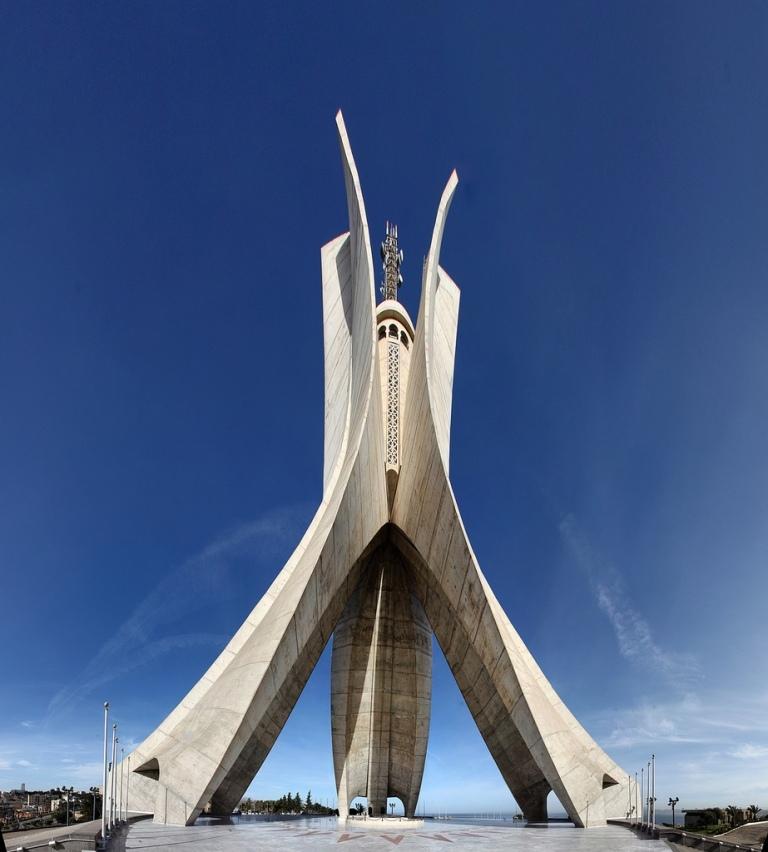 Monument-des-Martyrs-Algiers-Algeria