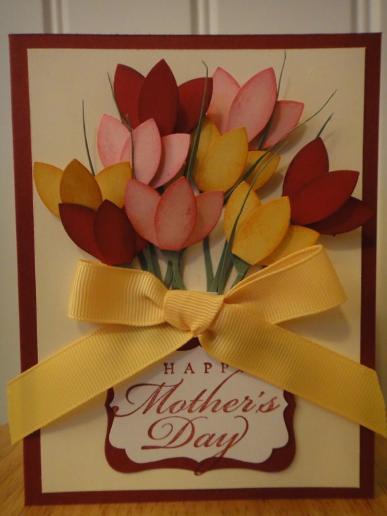 Greeting Cards Making Ideas Part - 40: Mothers-Day-Handmade-Greeting-Cards-and-Gift-Ideas-