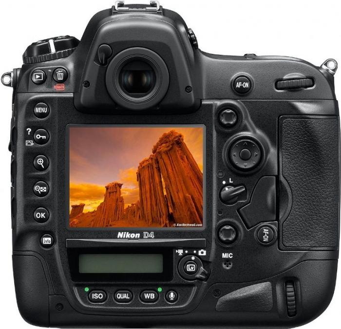 Nikon D4 Digital SLR Camera Body .