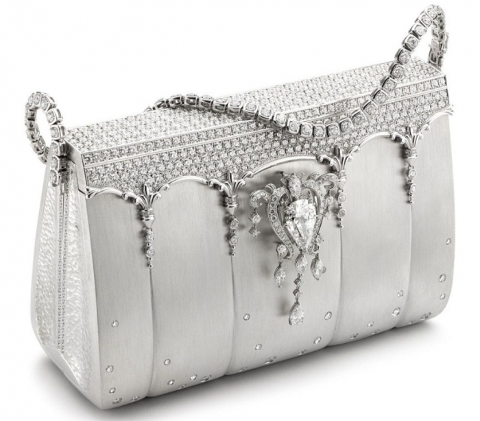 The Hermes Birkin bag created by Japanese designer Ginza Tanaka.