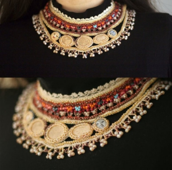 crochet-stone-necklace