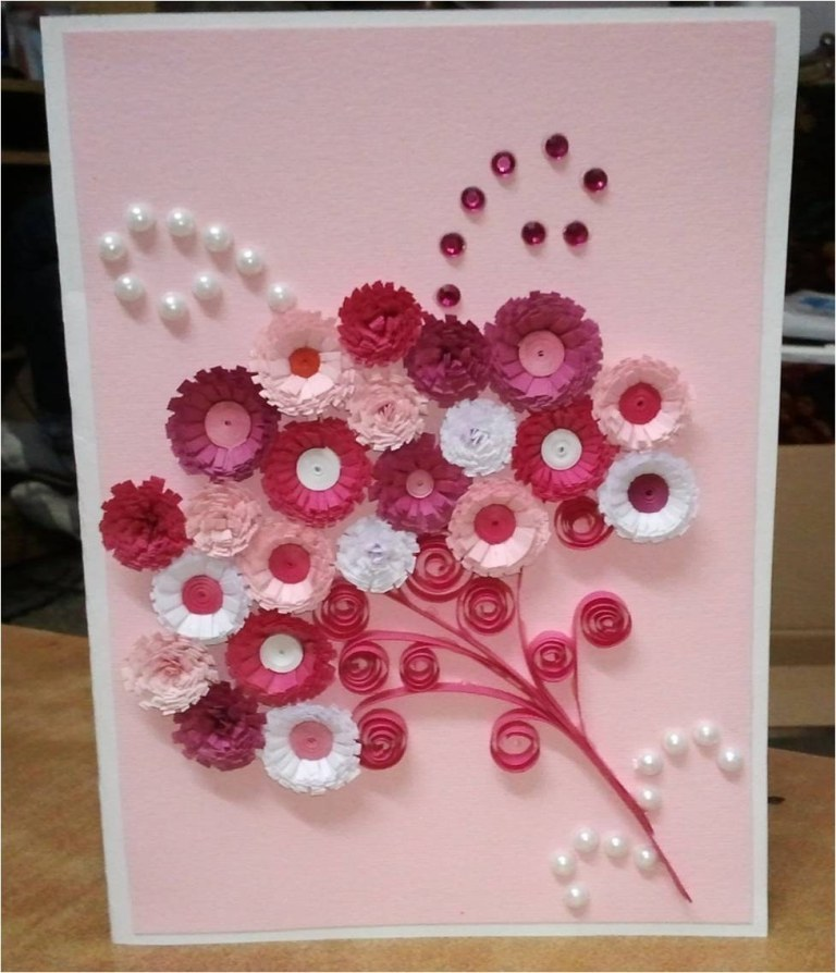handmade-cards-pink-color