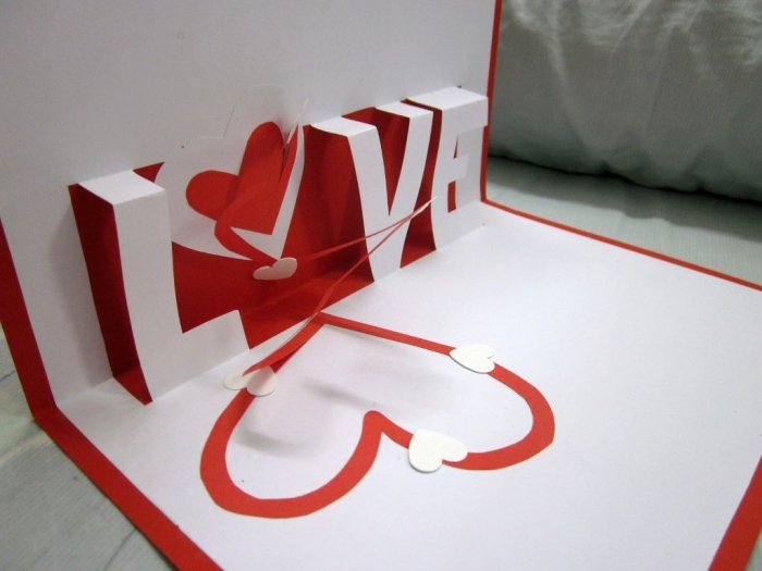 simple and cute valentines day homemade greeting cards preparation ideas 2014