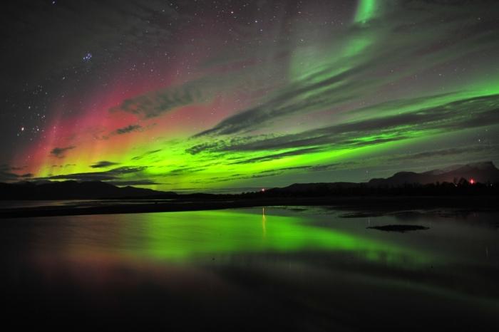 Abisko  aurora-borealis-abisko-sweden