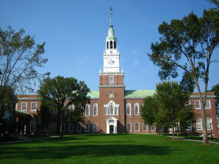 Dartmouth College dartmouth-green-ve30nu