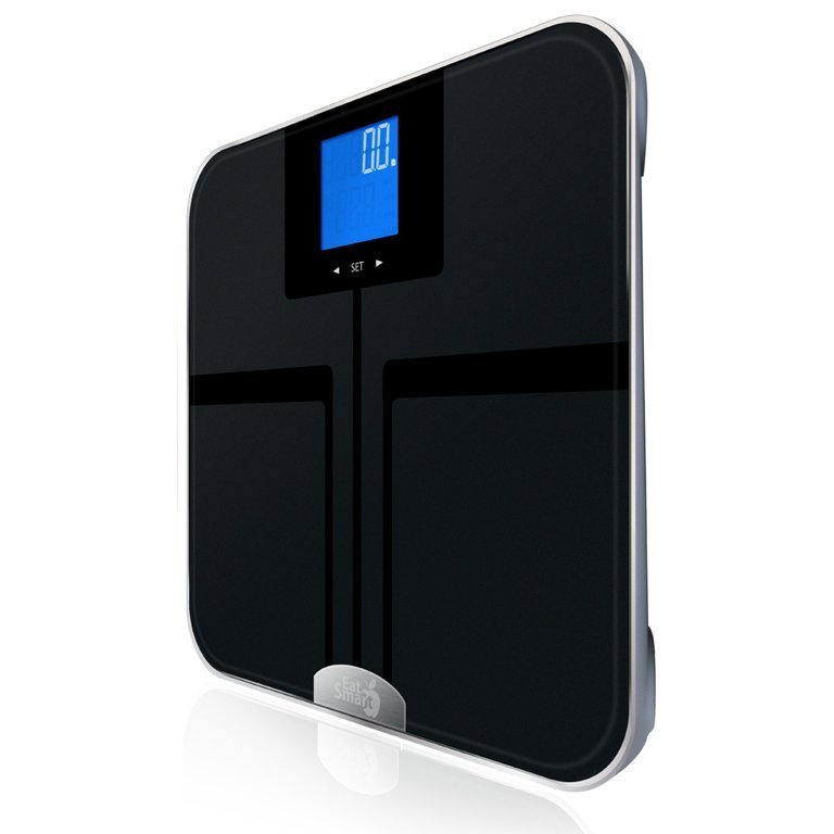 EatSmart Precision GetFit Digital Body Fat Scale w 400 lb .