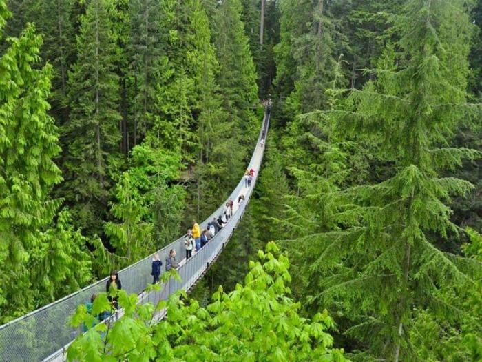 Vancouver, Canada CAPILANO_SUSPENSION _BRIDGE_VANCOUVER_CANADA