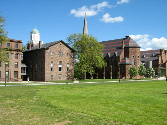 Wesleyan University College_row_at_wesleyan