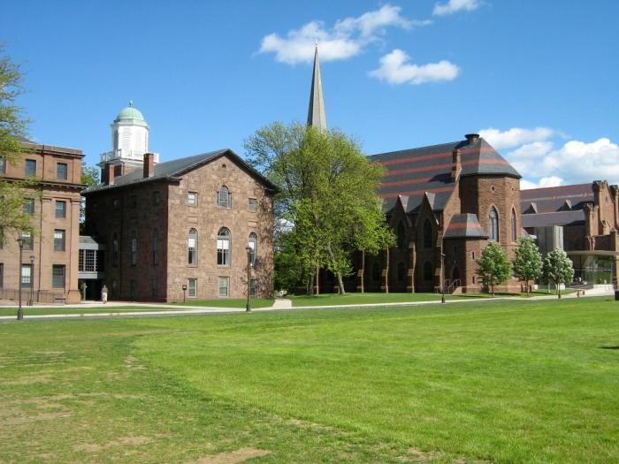 Wesleyan University College_row_at_wesleyan