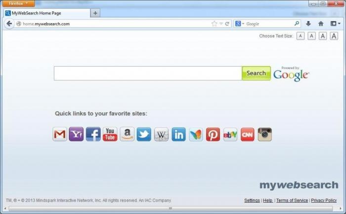 home-mywebsearch-virus