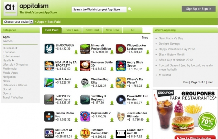 top android app download sites