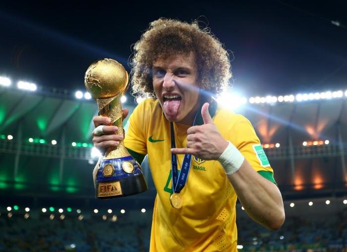 David Luiz Brazil v Spain Final