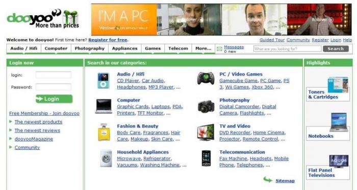 DooYoo uk-chooses-best-websites-on-the-net-dooyoo