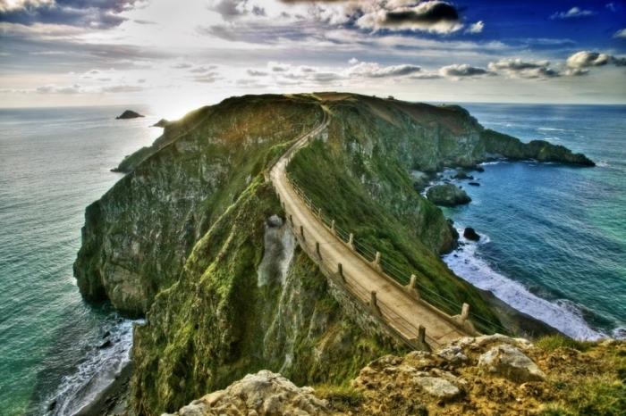 Guernsey Guernsey-Strasse-af-fels