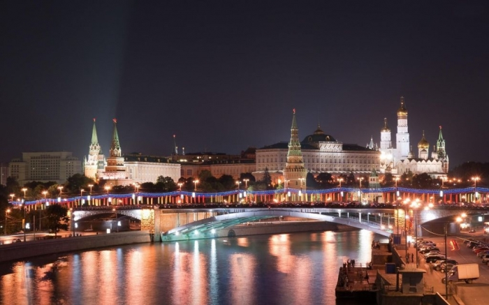 Moscow-at-night-Russia
