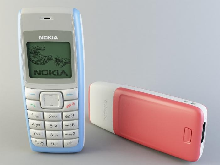 Nokia 1110.