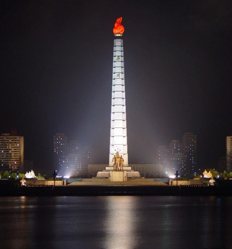 North Korea Juche_Tower