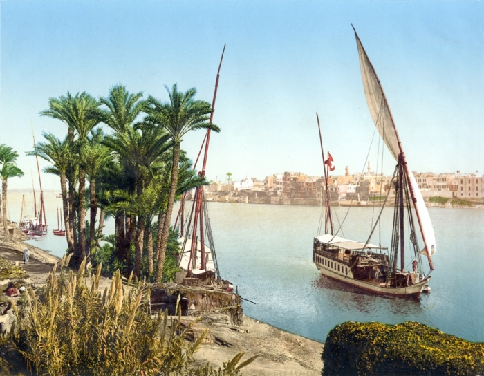 Sailboat_on_the_Nile,_Cairo,_Egypt,_ca._1895