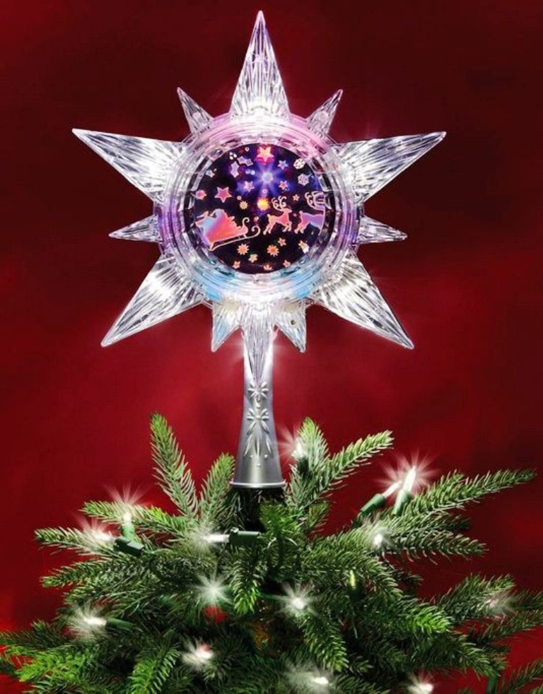 2013 christmas tree topper star christmas tree topper for 2013 purple christmas tree ornaments-f29591
