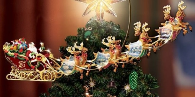 top 10 most unique 2015 christmas tree toppers - 2015 Christmas Tree