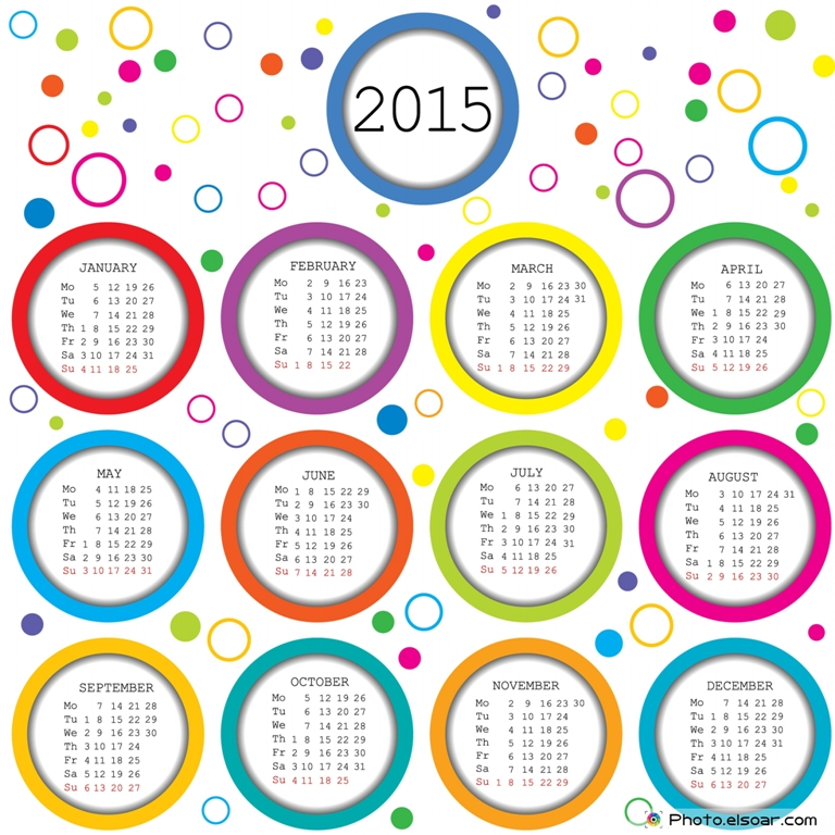 2015-Calendar-for-kids-with-colored-circles