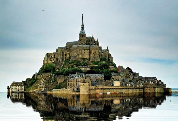 8 Le Mont Saint Michel Basse Normandie