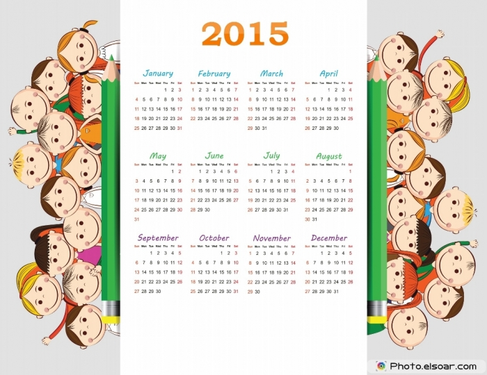 Calendar-2015-design-with-kids